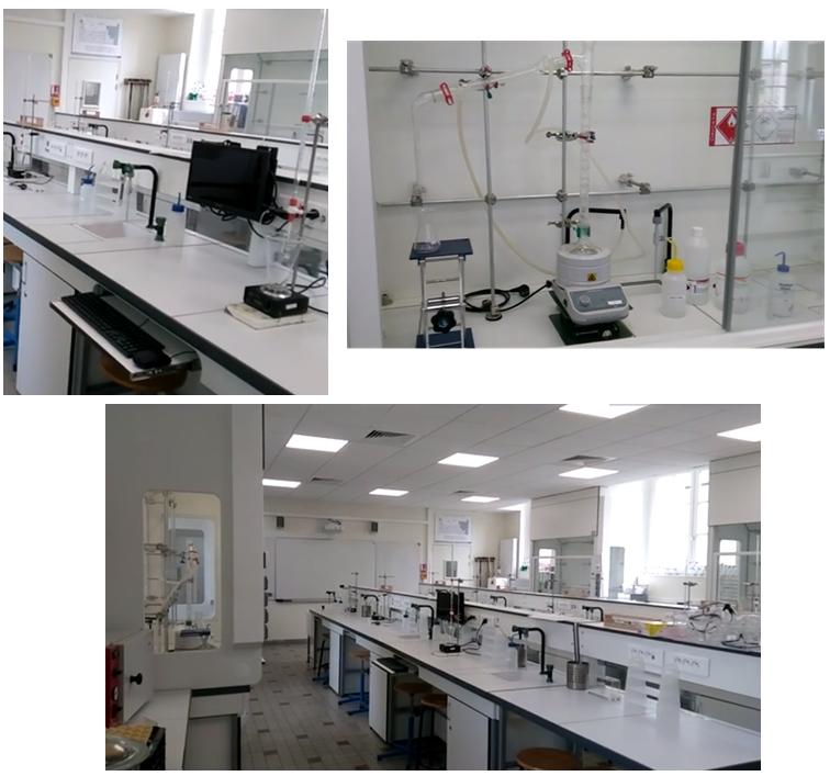 Des laboratoires entièrement rénovés