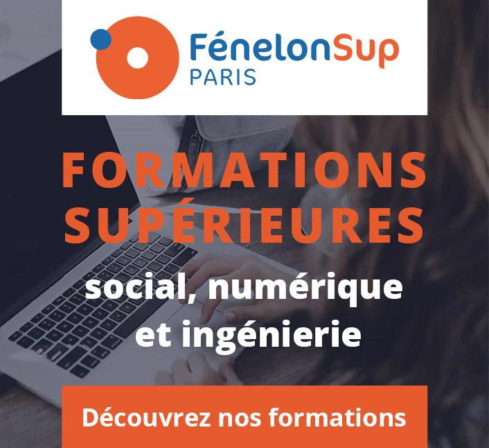Fenelon Sup Paris - Découvrez nos formations