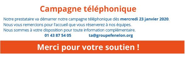 Campagne téléphonique
